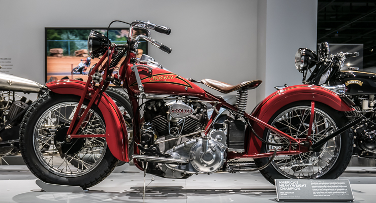 1938 Crocker V Twin Motorcycle