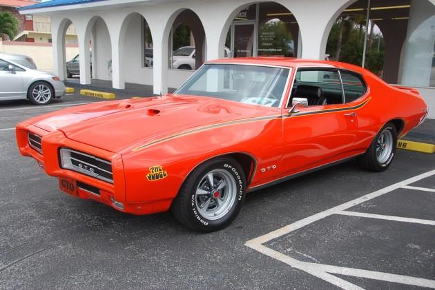 1969 Pontiac GTO Jugde Tribute